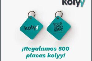 500 placas Kolyy de regalo a los primeros en pedirlas – Regalos y Muestras gratis