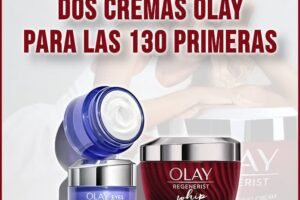 Olay regala 2 cremas a las 130 primeras – Regalos y Muestras gratis