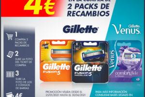 Reembolso de 4€ en la compra de Gillette y Venus – Regalos y Muestras gratis