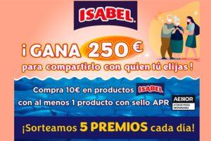 Gana premios con Isabel – Muestras Gratis Y Chollos