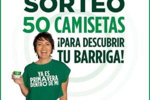 Activia Sortea 50 camisetas junto a Silvia Abril – Regalos y Muestras gratis