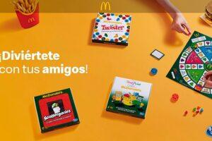 Consigue un juego de mesa con McDonald's