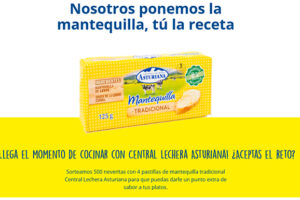 Sortean 500 neveritas con mantequilla Central Lechera Asturiana