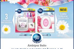 Prueba gratis Ambipur en el club embajadores de Próxima a ti – Regalos y Muestras gratis