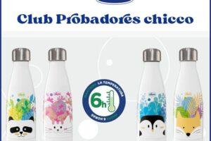 Chicco busca 20 testers para botellas de acero inoxidable – Regalos y Muestras gratis