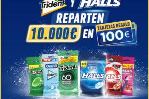 Trident y Halls sortean 100 tarjetas valoradas en 100€ – Regalos y Muestras gratis