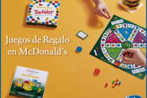 Mcdonald's regala 3 juegos de mesa coleccionables – Regalos y Muestras gratis