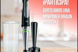 Milar Comelsa sortea 1 Minipimer de Braun – Regalos y Muestras gratis
