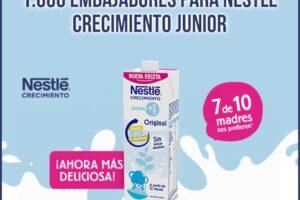 1000 probadores para Nestlé Crecimiento Junior +1 – Regalos y Muestras gratis