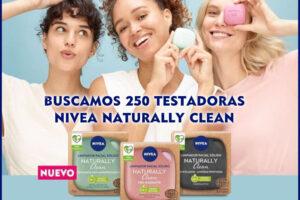 Nivea busca 250 probadoras de Naturally Clean – Regalos y Muestras gratis