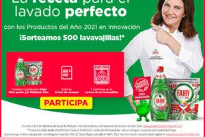 Fairy sortea 500 Tarjetas Regalo valoradas en 360€ – Regalos y Muestras gratis