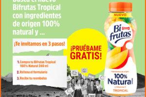Prueba gratis Bifrutas Tropical 100% Natural – Regalos y Muestras gratis