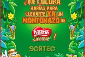 Nestlé regala 5 lotes de chocolatinas Jungly – Regalos y Muestras gratis