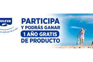 Sorteo de 1 año gratis de productos Puleva