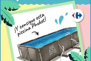 Carrefour regala una Piscina Rectangular Tubular Phuket – Regalos y Muestras gratis
