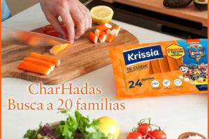 CharHadas busca 20 familias para probar gratis Krissia – Regalos y Muestras gratis