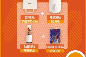 Consum sortea 40 packs de electrodomésticos y libros de cocina – Regalos y Muestras gratis