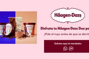 Reembolsos en Häagen-Dazs Duo – Muestras Gratis Y Chollos