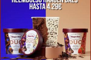 Reembolso de hasta 4.29€ para Häagen-Dazs Duo – Regalos y Muestras gratis