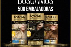 Syoss Busca a 500 Embajadores – Regalos y Muestras gratis