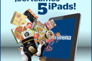 La Sirena sortea 5 iPads – Regalos y Muestras gratis