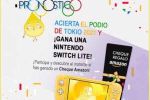 Sigaus regala cheques Amazon y una Nintendo Switch – Regalos y Muestras gratis
