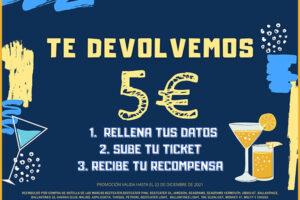 3.000 Reembolsos de hasta 5€ en Bebidas Pernod Ricard – Regalos y Muestras gratis