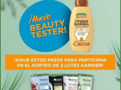 Sorteo Garnier Beauty Tester Original Remedies