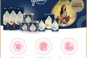 Reembolso de hasta tres productos Aromáticos Glade – Regalos y Muestras gratis